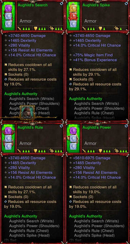 [Primal Ancient] [QUAD DPS] 2.6.7 Aughild Set