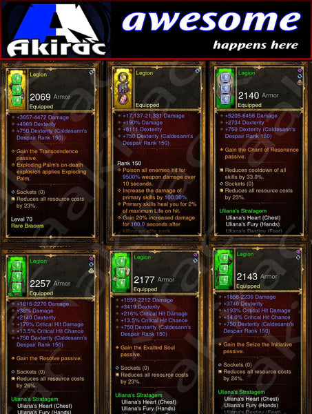 Immortality v1 Ulania Monk Modded Set for Rift 150 Legion-Diablo 3 Mods - Playstation 4, Xbox One, Nintendo Switch
