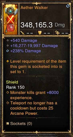 Aether Wallker 348k Actual DPS Wand-Diablo 3 Mods - Playstation 4, Xbox One, Nintendo Switch