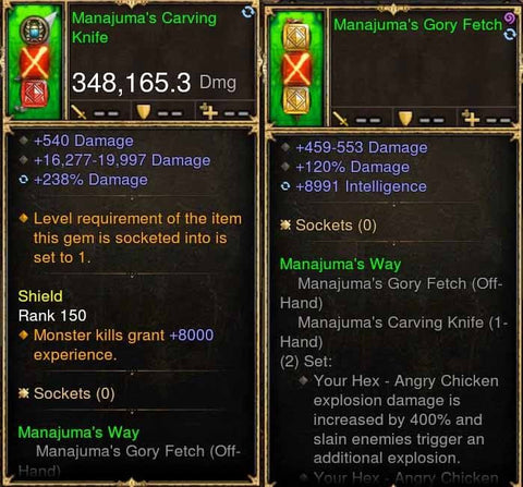 Manajumas 348k Actual DPS Combo-Diablo 3 Mods - Playstation 4, Xbox One, Nintendo Switch