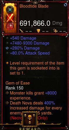 [Primal Ancient] [QUAD DPS] 2.6.6 Bloodtide Blade 691k DPS