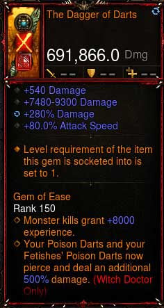[Primal Ancient] [QUAD DPS] 2.6.6 The Dagger of Darts 691k DPS