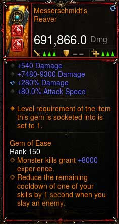 [Primal Ancient] [QUAD DPS] 2.6.6 Messerschmidt's Reaver 691k DPS