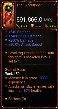 [Primal Ancient] [QUAD DPS] 2.6.6 The Executioner 691k DPS