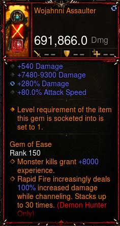 [Primal Ancient] [QUAD DPS] 2.6.6 Wojahnni Assaulter 691k DPS