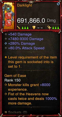[Primal Ancient] 691k DPS 2.6.7 Darklight