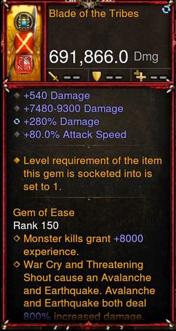 [Primal Ancient] 691k DPS 2.6.10 Blade of the Tribes