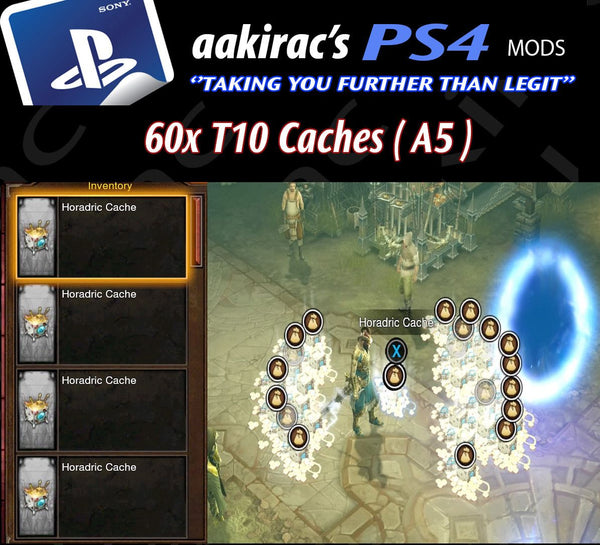 T10 Cache's-Diablo 3 Mods - Playstation 4, Xbox One, Nintendo Switch