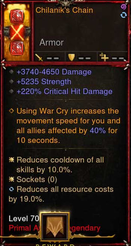 [Primal Ancient] [QUAD DPS] 2.6.1 Chilaniks Chain Belt-Diablo 3 Mods - Playstation 4, Xbox One, Nintendo Switch