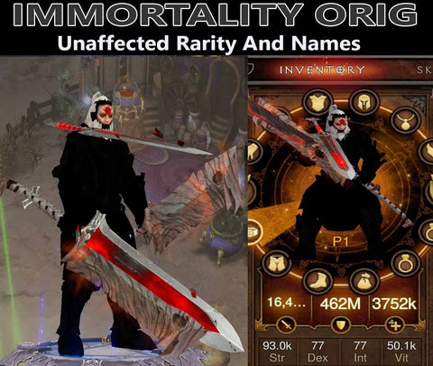 Immortality Orig Raekor's Barbarian (v3)-Diablo 3 Mods - Playstation 4, Xbox One, Nintendo Switch