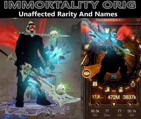 Immortality Orig Waste Barbarian (v3)-Diablo 3 Mods - Playstation 4, Xbox One, Nintendo Switch