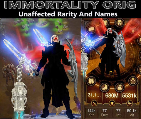 Immortality Orig Light Crusader-Diablo 3 Mods - Playstation 4, Xbox One, Nintendo Switch