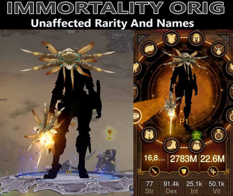 Immortality Orig Shadow Mantle Demon Hunter (v3)-Diablo 3 Mods - Playstation 4, Xbox One, Nintendo Switch