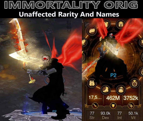 Immortality Orig Ulania Monk (v3)-Diablo 3 Mods - Playstation 4, Xbox One, Nintendo Switch