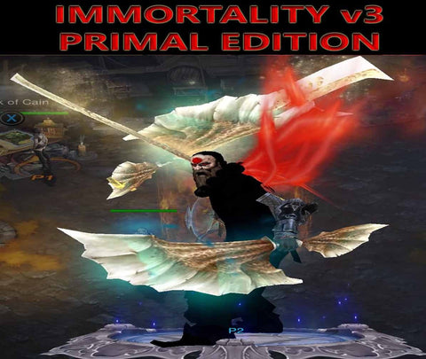 [Primal Ancient] Immortality v3 Ulania Monk Oracle Level 1-70-Diablo 3 Mods - Playstation 4, Xbox One, Nintendo Switch