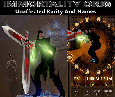 Immortality Orig Jade Witch Doctor (v3)-Diablo 3 Mods - Playstation 4, Xbox One, Nintendo Switch