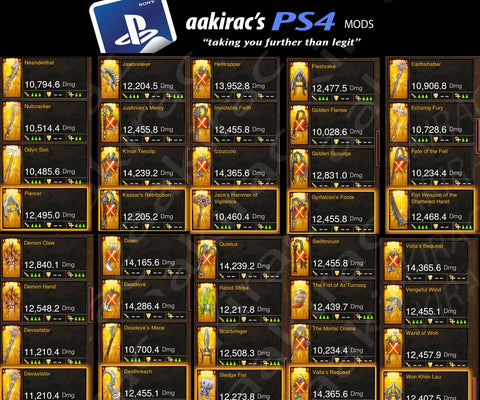 diablo 3 ps4 modded items download 2017 - Apan Archeo Forum