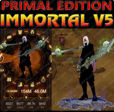 [Primal Ancient] Immortality v5 Null Modded Necromancer Pestilence Set-Diablo 3 Mods - Playstation 4, Xbox One, Nintendo Switch