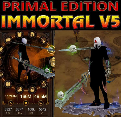 [Primal Ancient] Immortality v5 Vain Modded Necromancer Rathma Set-Diablo 3 Mods - Playstation 4, Xbox One, Nintendo Switch