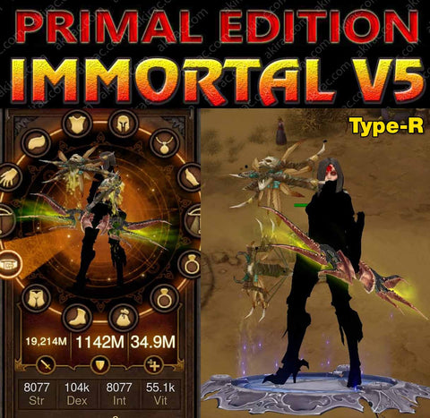 [Primal Ancient] Immortality v5 Type-R Speed Strafe Demon Hunter Strider-Diablo 3 Mods - Playstation 4, Xbox One, Nintendo Switch