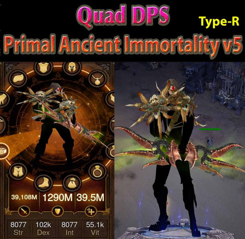 [Primal Ancient] [Quad DPS] Immortality v5 Type-R Speed Strafe Demon Hunter Striker-Diablo 3 Mods - Playstation 4, Xbox One, Nintendo Switch