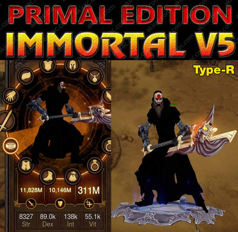 [Primal Ancient] Immortality v5 Type-R FASTEST TStorms Monk v2 Killing-Diablo 3 Mods - Playstation 4, Xbox One, Nintendo Switch