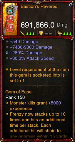 [Primal Ancient] 691k DPS 2.6.8 Bastions Revered