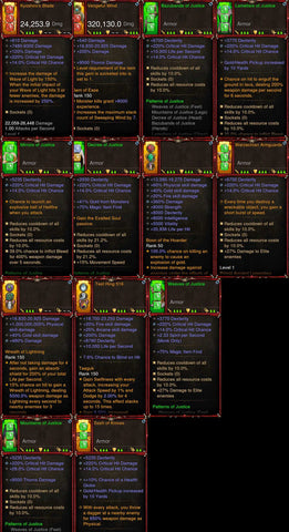 [Primal Ancient] 1-70 BobbaPearl's v3 Justice 2.6.7 Monk Set #B3