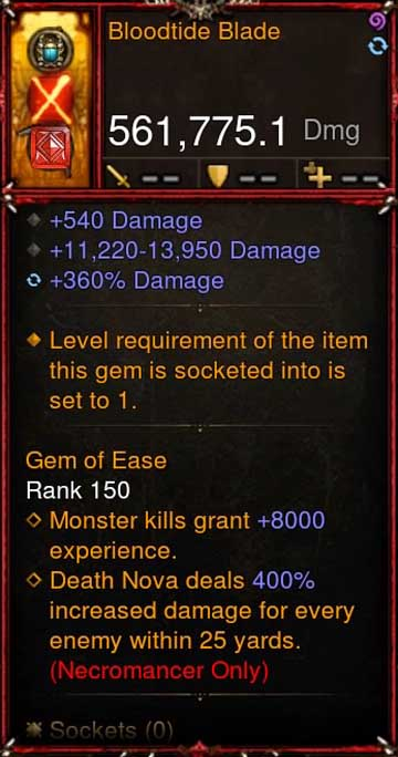 [Primal Ancient] [QUAD DPS] 2.6.5 Bloodtide Blade 561K DPS