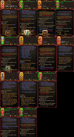 [Primal Ancient] 1-70 BobbaPearl's v2 Immortal Kings Barbarian Set for 150 Rift #B4-Diablo 3 Mods - Playstation 4, Xbox One, Nintendo Switch