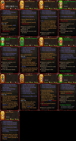 [Primal Ancient] 1-70 BobbaPearl's v2 Tal Rasha (Variant 2) Wizard Set for 150 Rift #A1-Diablo 3 Mods - Playstation 4, Xbox One, Nintendo Switch