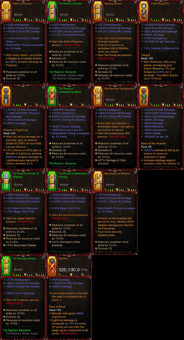 [Primal Ancient] 1-70 BobbaPearl's v2 Tal Rasha Wizard Set for 150 Rift #A5-Diablo 3 Mods - Playstation 4, Xbox One, Nintendo Switch