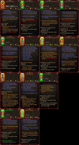 [Primal Ancient] 1-70 BobbaPearl's v2 Unhallow Demon Hunter Set for 150 Rift #A6-Diablo 3 Mods - Playstation 4, Xbox One, Nintendo Switch