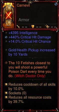 [Primal Ancient] 2.6.6 Carnival Witch Doctor Helm