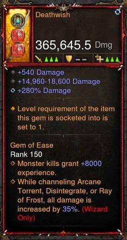 [Primal Ancient] 365k Actual DPS Deathwish-Diablo 3 Mods - Playstation 4, Xbox One, Nintendo Switch