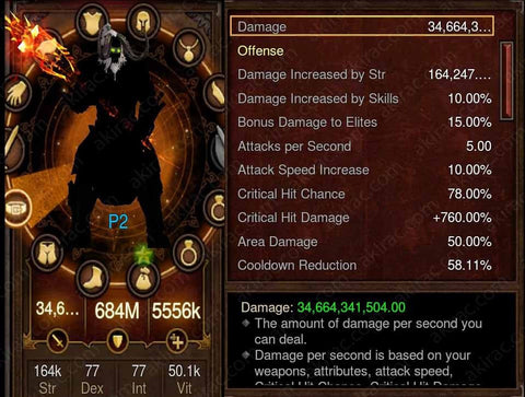 Prime Immortal Kings Barbarian - High DPS #B4-Diablo 3 Mods - Playstation 4, Xbox One, Nintendo Switch