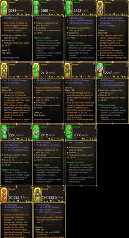 Diablo 3 Immortal v3 Justice 2.6.7 Monk Modded Set for Rift 150 Source