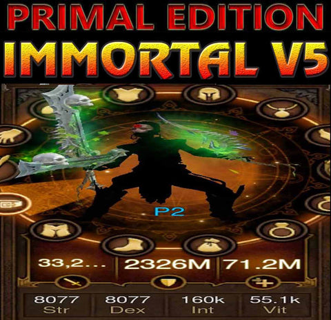 [Primal Ancient] Immortality v5 Titan Speed Jade Witch Doctor Incubus-Diablo 3 Mods - Playstation 4, Xbox One, Nintendo Switch