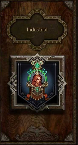Patch 2.6.9 Industrial Portrait Frame
