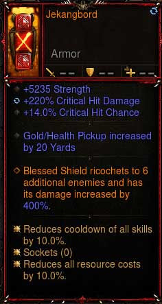 [Primal Ancient] 2.6.6 Jekangbord Crusader Shield