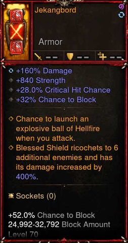 [Primal Ancient] [Quad DPS] 2.6.5 Jekangbord Crusader Shield