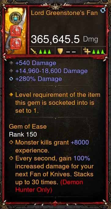 [Primal Ancient] 365k Actual DPS Lord Greenstones Fan-Diablo 3 Mods - Playstation 4, Xbox One, Nintendo Switch