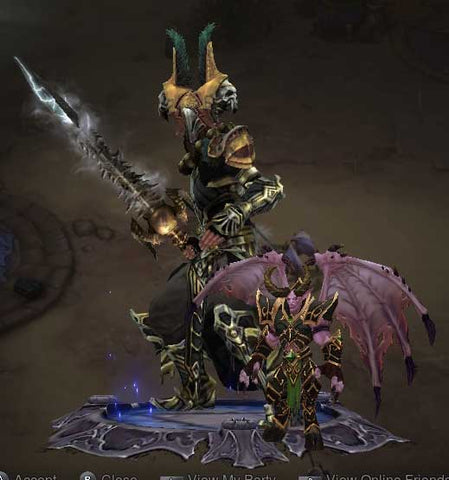 Patch 2.6.6 Mal'ganis Cosmetic Pet