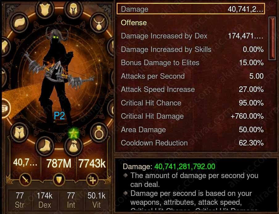 Prime Marauder Demon Hunter - High DPS #A6-Diablo 3 Mods - Playstation 4, Xbox One, Nintendo Switch