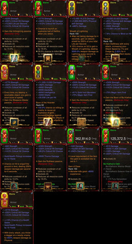 [Primal Ancient] 1-70 Waste Barbarian Set Blame for gRift 150-Diablo 3 Mods - Playstation 4, Xbox One, Nintendo Switch