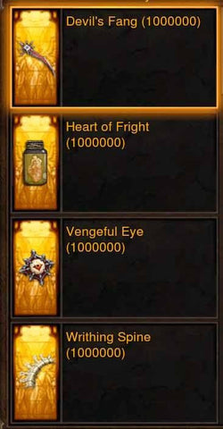 Old (Level 60) Hellfire Ring Crafting Materials-Diablo 3 Mods - Playstation 4, Xbox One, Nintendo Switch