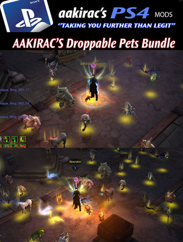 25x Random Picked Droppable Pets-Diablo 3 Mods - Playstation 4, Xbox One, Nintendo Switch