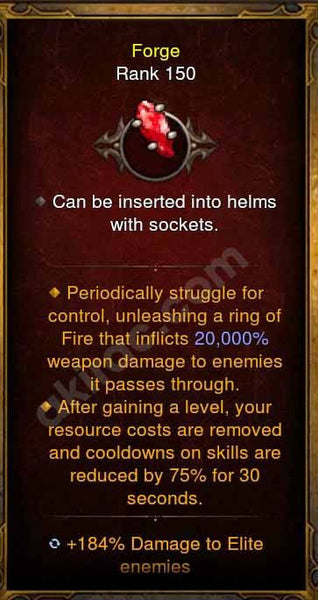 2.4.3 Red Soul Shard Legendary Gems (Max Rank, Variety Selector, Pick from Freeze, Fear, Damage, RA, Thorns, EXP, Stun, Elite Damage, Armor, Etc..)-Diablo 3 Mods - Playstation 4, Xbox One, Nintendo Switch