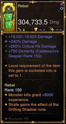 Rebel Addon: 304k Actual DPS K'mar Tenclip Modded Bow-Diablo 3 Mods - Playstation 4, Xbox One, Nintendo Switch