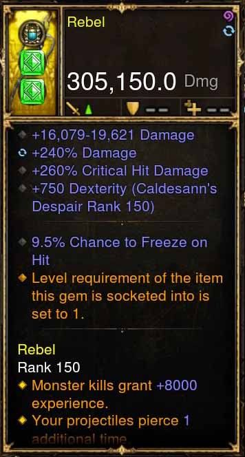 Rebel Addon: 305k Actual DPS Buriza Modded Bow-Diablo 3 Mods - Playstation 4, Xbox One, Nintendo Switch